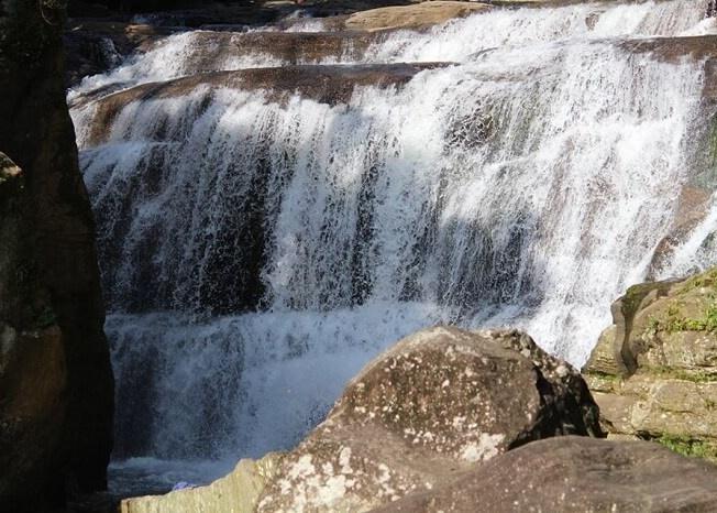 gorgeous waterfall near bentota