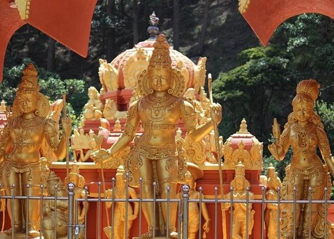 Ramayana trail temple in Sri Lanka
