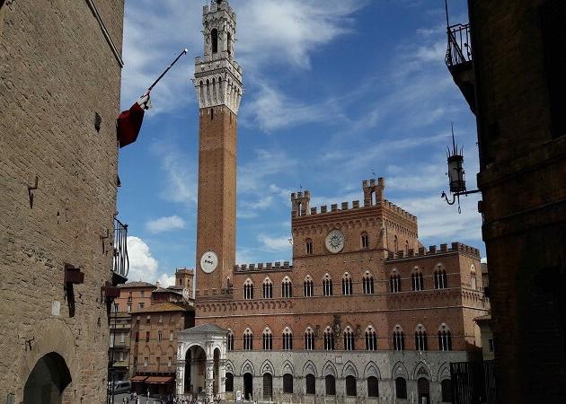Siena town center