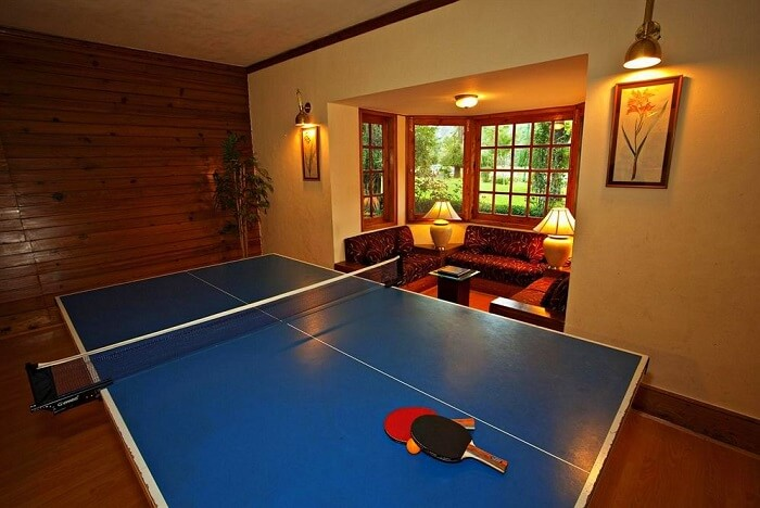 Span resort and spa table tennis