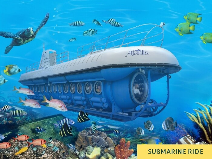 The Atlantis submarine in Maldives