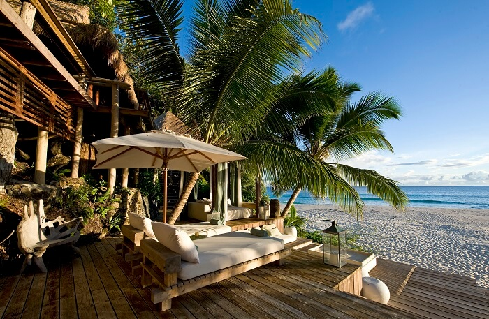The luxuries of a 4 star resort in Seychelles