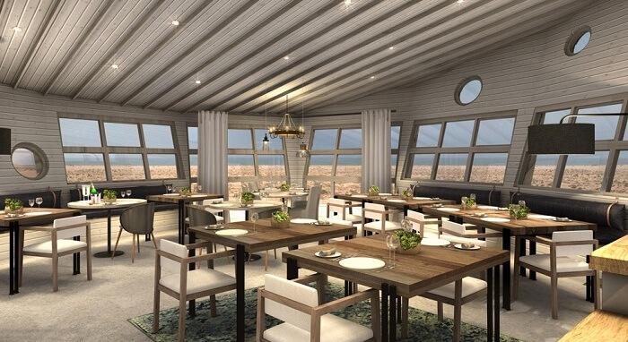 Restaurant at Shipwreck Lodge