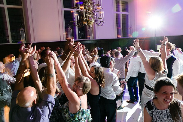 A post wedding dance party at Fulham Palace in London