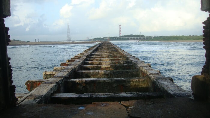 The broken Bridge in Besant Nagar is among the popular haunted places in Chennai