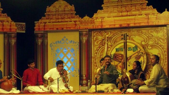 The December Music Fest Chennai is a monthlong celebration of South Indian artforms
