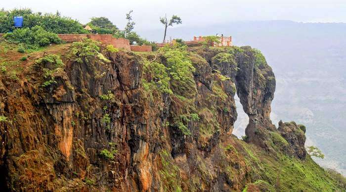 The mysterious Elephant's Head Point is undoubtedly one of the best places to visit in Mahabaleshwar