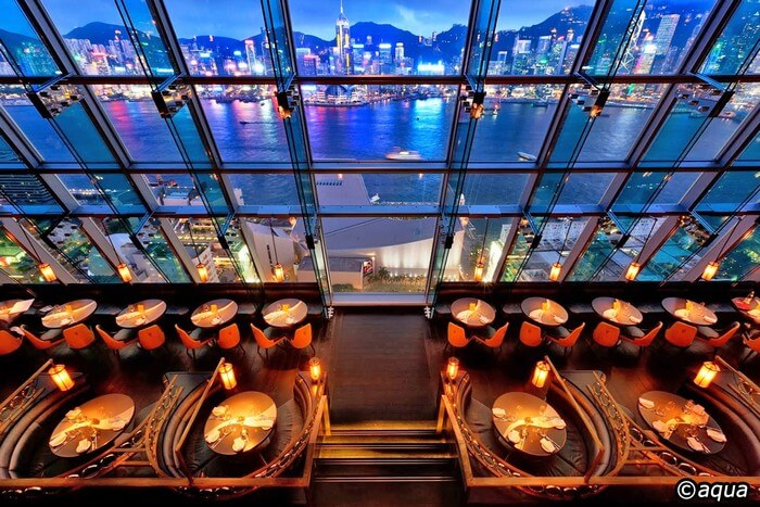Top shot of Eye Bar - one of the best offerings of Hong Kong nightlife