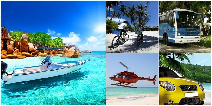 Getting around in Seychelles is quite easy with public transport and private rentals