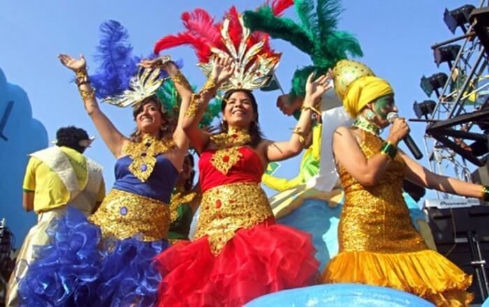 The Goa carnival is a must attend winter festival in India