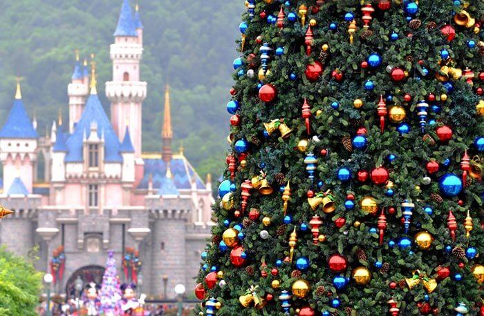 Hong Kong's Disneyland gearing up for Christmas