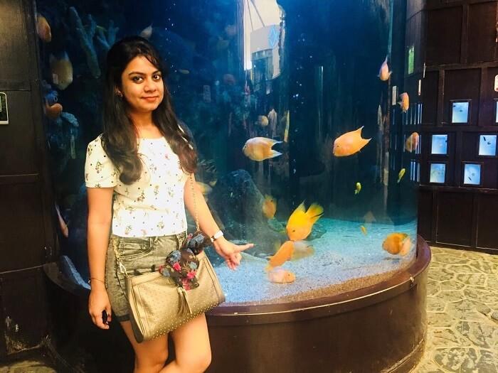 pooja thailand trip day 3 orange fish