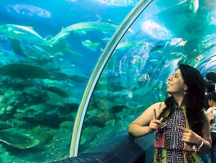 pooja thailand trip day 3 friend fish
