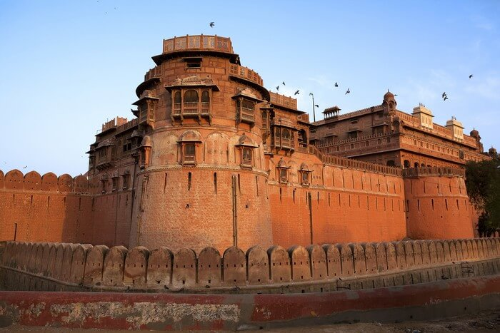 Junagarh Fort is among the most popular places to see in Rajasthan