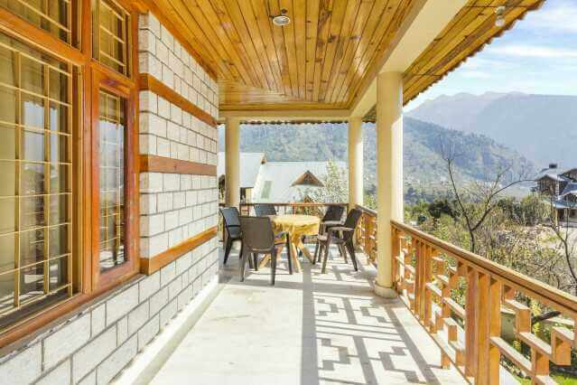 Kalinga Cottages verandah