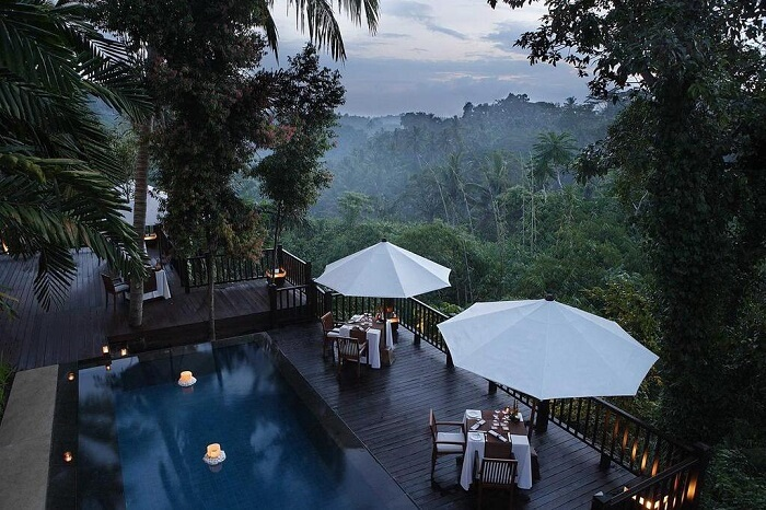 Kayumanis Ubud Private Villas & Spa with awesome views of hills of bali