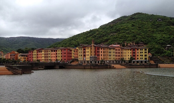 Lake view at Lavasa