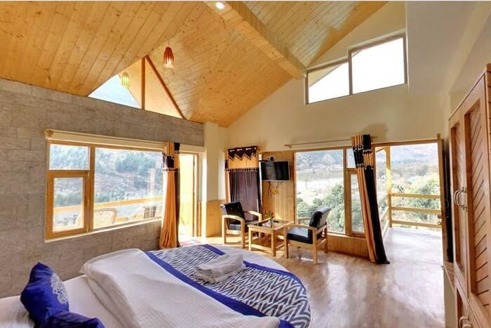Manzana Woodlet Cottages bedroom