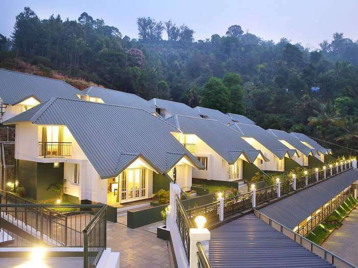 An evening at the Munnar Tea Country Resort is full of memories to cherish