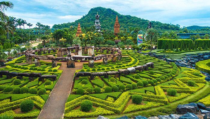 The botanical garden of Pattaya