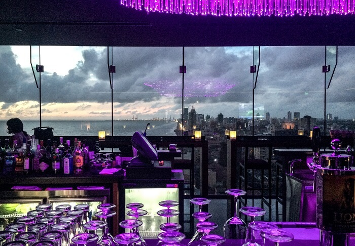 ON14 - The purple hep view from inside of this gem of Colombian nightlife