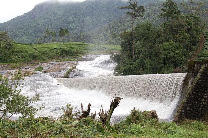 Pallivasal's Hydro Electricity Project near Munnar