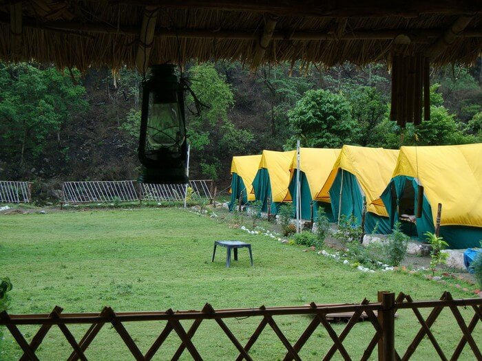 Camping in Rishikesh has recently turned into glamping after modern amenities added to traditional camps