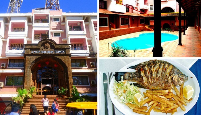 A collage of some of the scenes from Rivasa Beach Resort