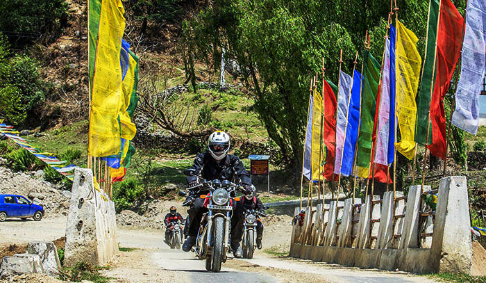 Bike tour to Bhutan