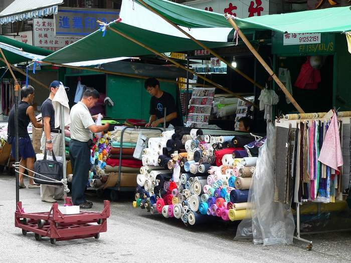 One of the most non-glitzy shopping places in Hong Kong is Sham Shui Po