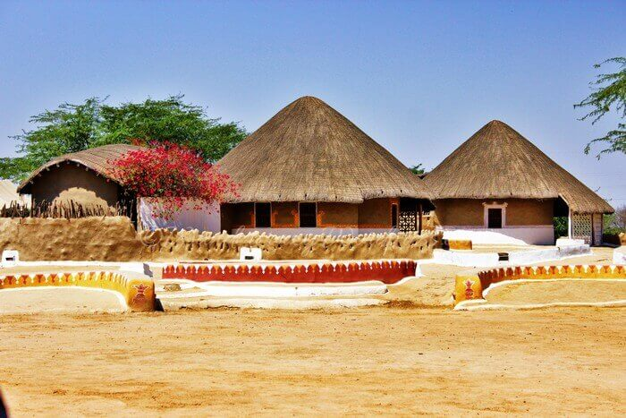 The Sham-e-sarhad Resort near the tent city is an alternative stay option during Rann Utsav