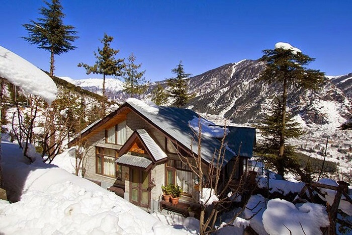 Sojourn Homes & Cottages in winters