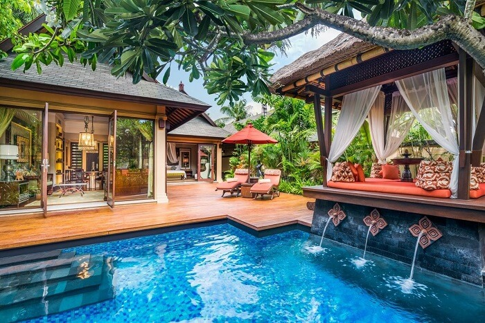 gorgeous St. Regis Bali Resort with beautiful private pool