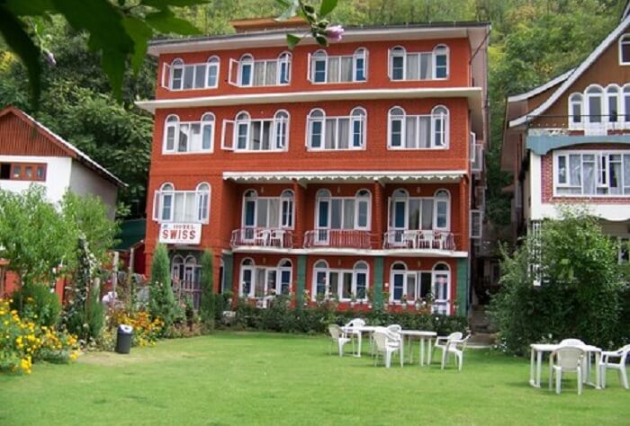 Swiss Hotel Kashmir is one of the best budget hotels in Srinagar near Dal Lake