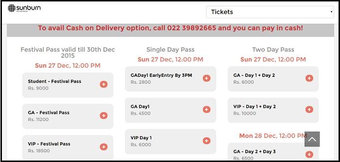 Tickets for Sunburn Goa are already live