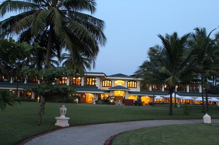 Taj Exotica is one of the best beach resorts in Goa