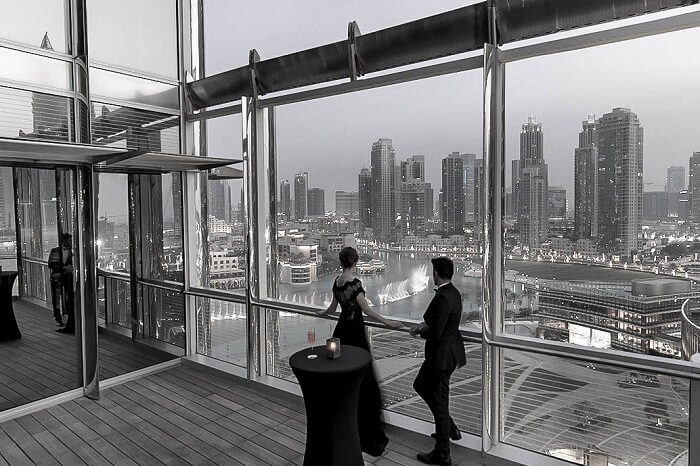 The Annex event space on Level 11 of Burj Khalifa