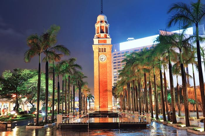 The Tsim Sha Tsui Clock Tower, a symbol of the colonial rule that once prevailed in Hong Kong