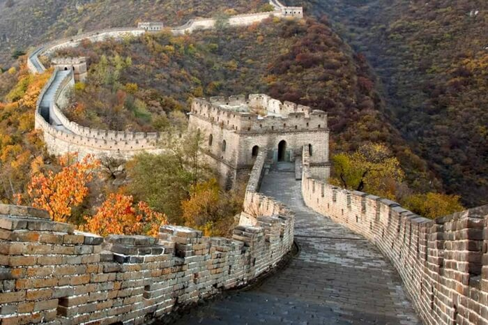 The Great Wall in Qinghai province