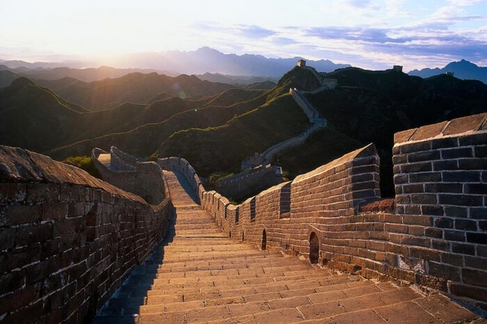 The Great Wall in Ningxia province