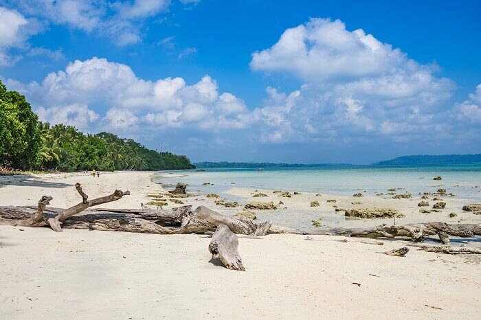 A shot from Vijayanagar Beach on Havelock Island