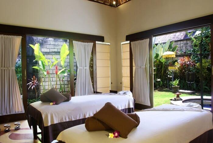 spa area in villa seminyak