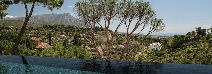 Villa Cezanne stay in Spain