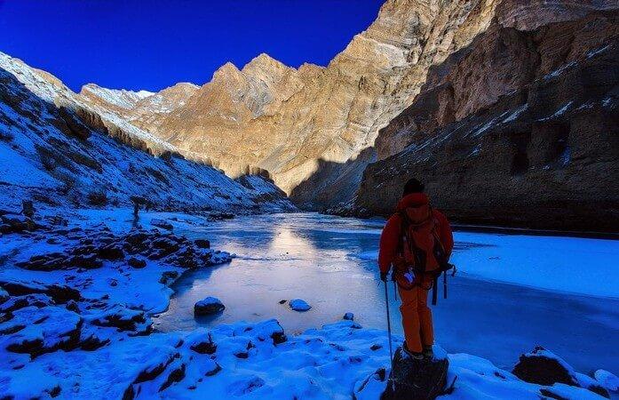 A trek through the Zanskar river