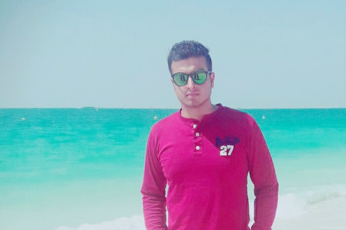me at jumeirah beach