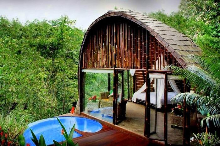 fab architecture and location of villa awang awang
