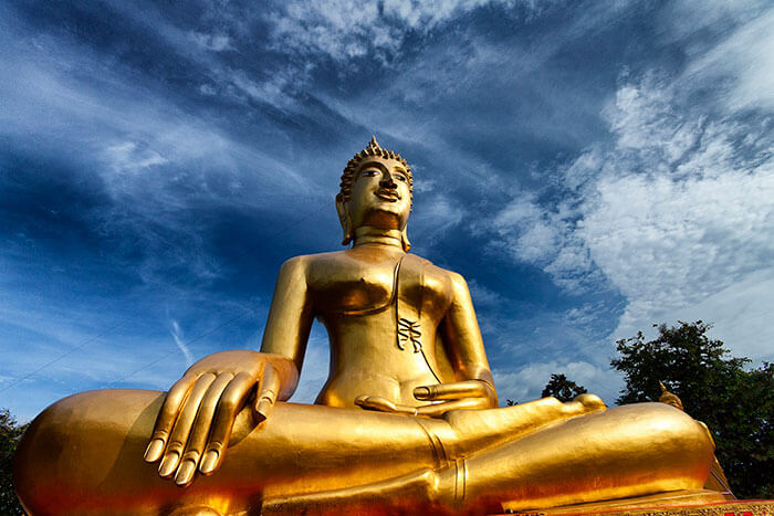 Big Buddha hill is the best tourist attraction in Pattaya