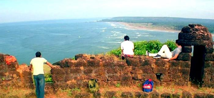 The Dil chahta hai fort in Goa