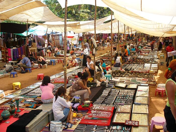 flea market in Dona Paula