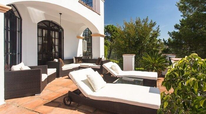 Hacienda de Madronal villa rent in Spain